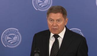 Пресс-подход Председателя Верховного Суда Российской Федерации В.М. Лебедева