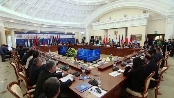 Meeting of the Supreme Court Chief Justices of the SCO Member States Opening ceremony