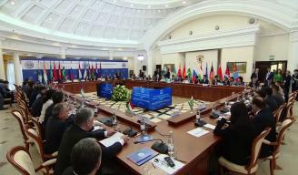 上合组织成员国最高法院院长会议开幕式
