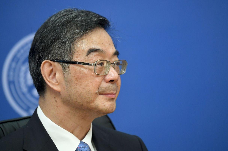 Председатель Верховного народного суда КНР Чжоу Цян на совещании председателей верховных судов государств-членов ШОС (Шанхайской организации сотрудничества) в Сочи