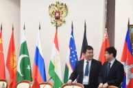 Participants in the 14th Meeting of Supreme Court Chief Justices of the Shanghai Cooperation Organisation (SCO) Member States