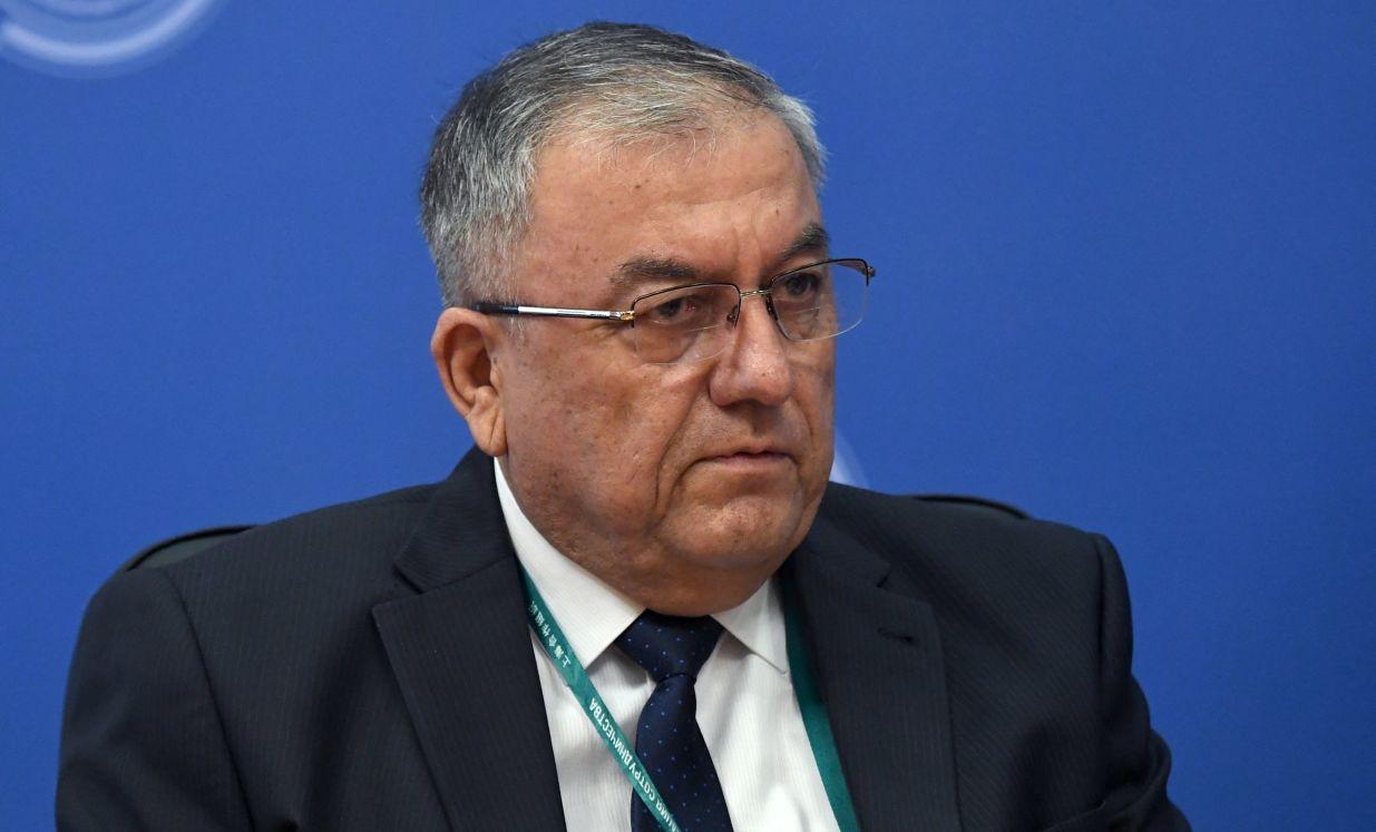 Председатель Верховного суда Узбекистана Козимджан Камилов на совещании председателей верховных судов государств-членов ШОС (Шанхайской организации сотрудничества) в Сочи