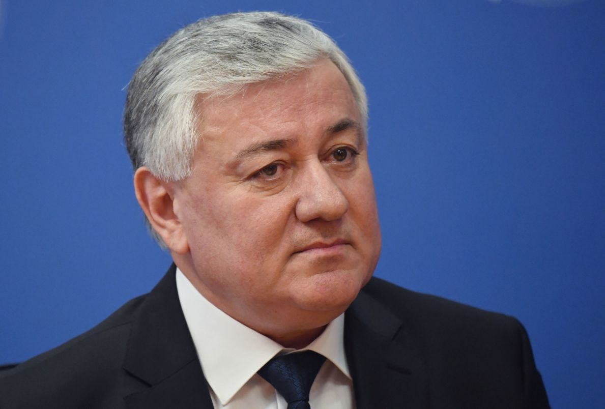 Председатель Верховного суда Таджикистана Шермухаммад Шохиён на совещании председателей верховных судов государств-членов ШОС (Шанхайской организации сотрудничества) в Сочи