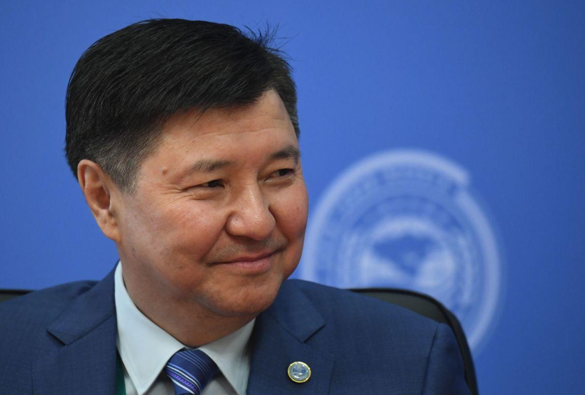 Председатель Верховного суда Республики Казахстан Жакип Асанов на совещании председателей верховных судов государств-членов ШОС (Шанхайской организации сотрудничества) в Сочи