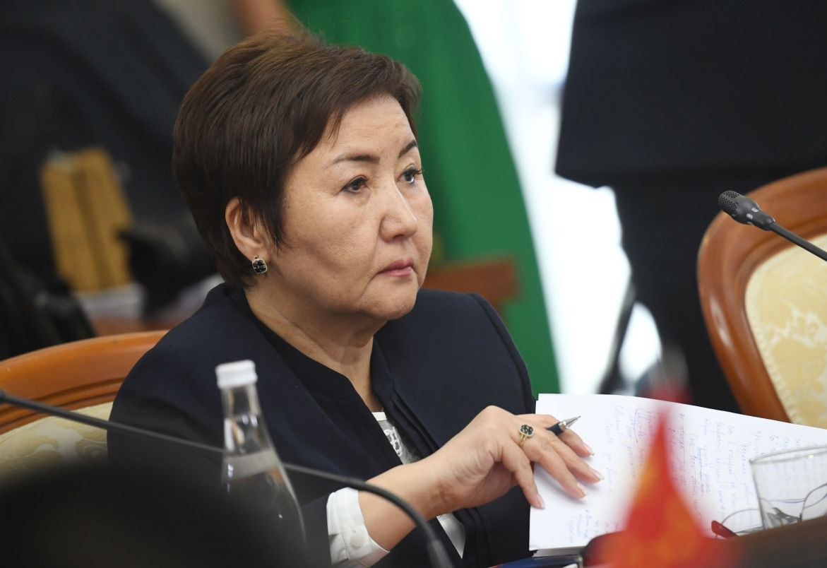 Chief Justice of the Supreme Court of Kyrgyzstan Gulbara Kaliyeva at the 14th Meeting of Supreme Court Chief Justices of the Shanghai Cooperation Organisation (SCO) Member States