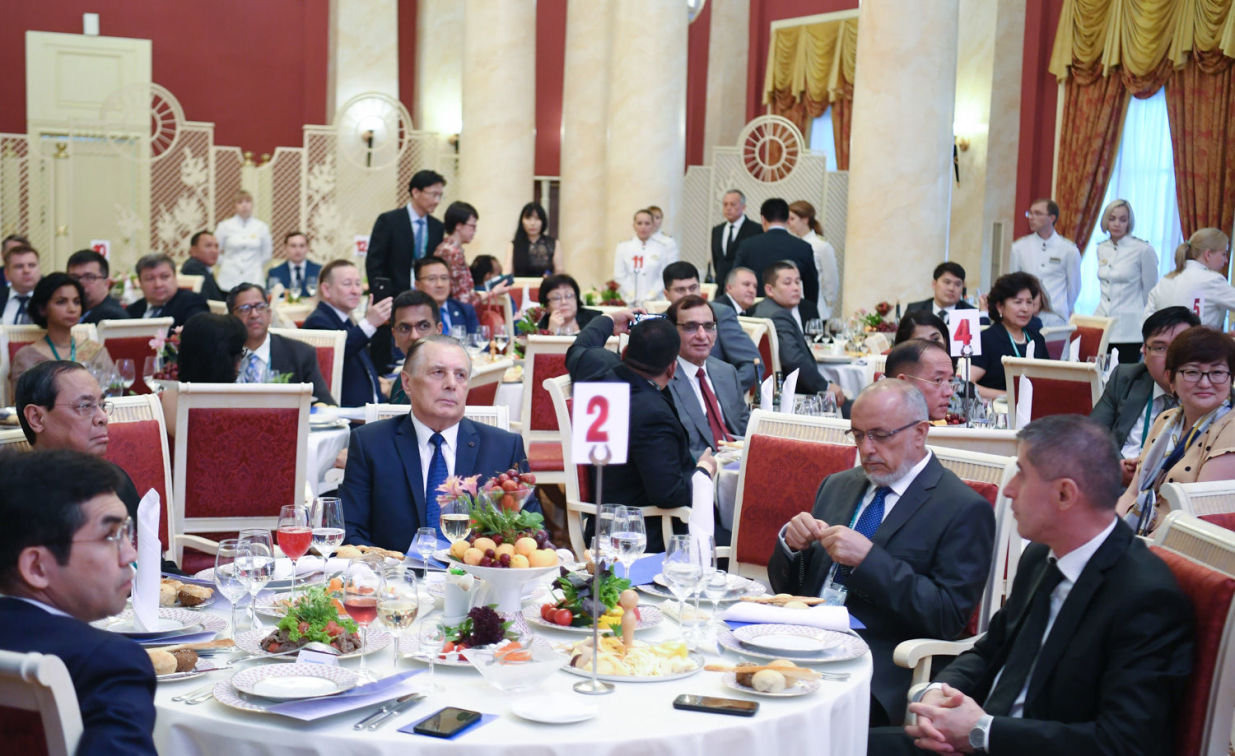 Welcoming dinner on behalf of the Supreme Court of Russia held as part of the meeting of Supreme Court Chief Justices of the Shanghai Cooperation Organisation (SCO) in Sochi