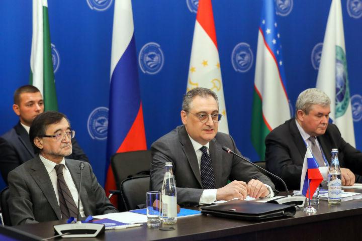 俄罗斯副外长莫尔古洛夫在上合组织成员国国家协调员理事会会议上致辞