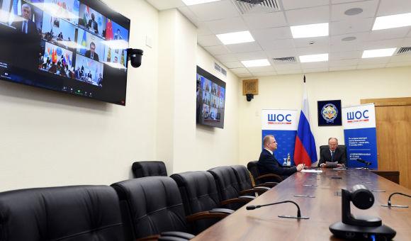 上海合作组织成员国安全会议秘书第十五次会议9月15日以视频形式举行,会议由俄方主持。
