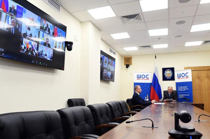 Под председательством российской  стороны в режиме видеоконференции состоялась пятнадцатая Встреча Секретарей Советов безопасности государств-членов Шанхайской организации сотрудничества
