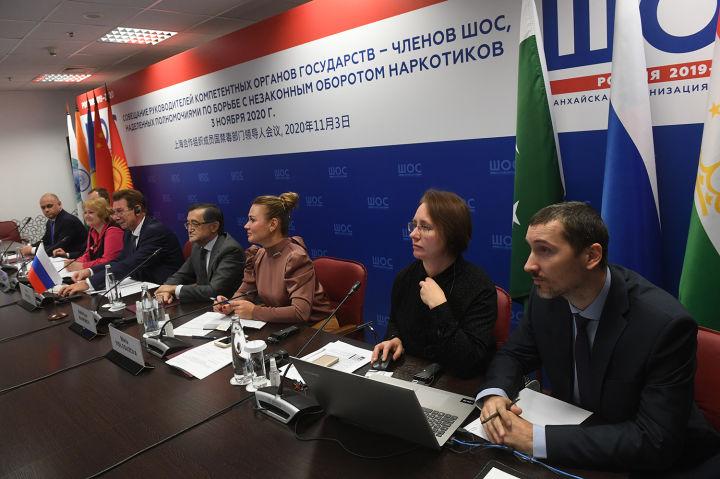 Руководители компетентных органов государств-членов ШОС обсудили приоритетные вопросы борьбы с наркобизнесом