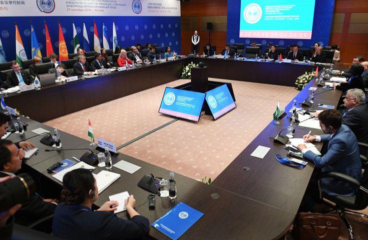 В рамках российского председательства в ШОС запущен механизм встреч на уровне министров по вопросам охраны окружающей среды