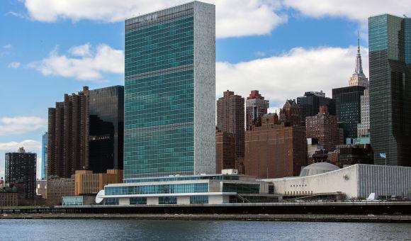 俄罗斯外交部副部长莫尔古洛夫出席联合国与上合组织联合活动