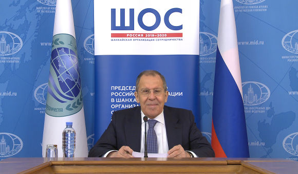 Press release on the meeting of SCO foreign ministers via video conference